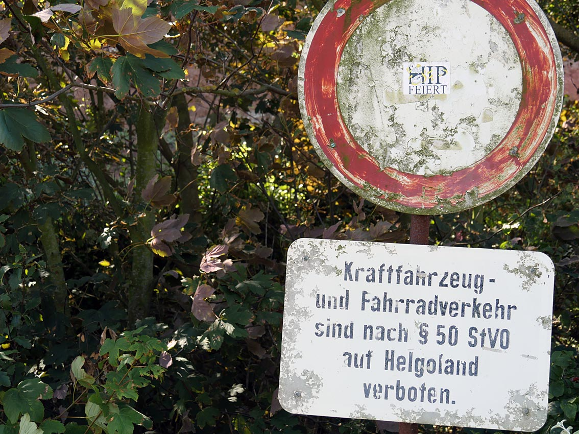 Auf Helgoland ist manches anders geregelt als im restlichen Deutschland | Bild: Andreas Bubrowski