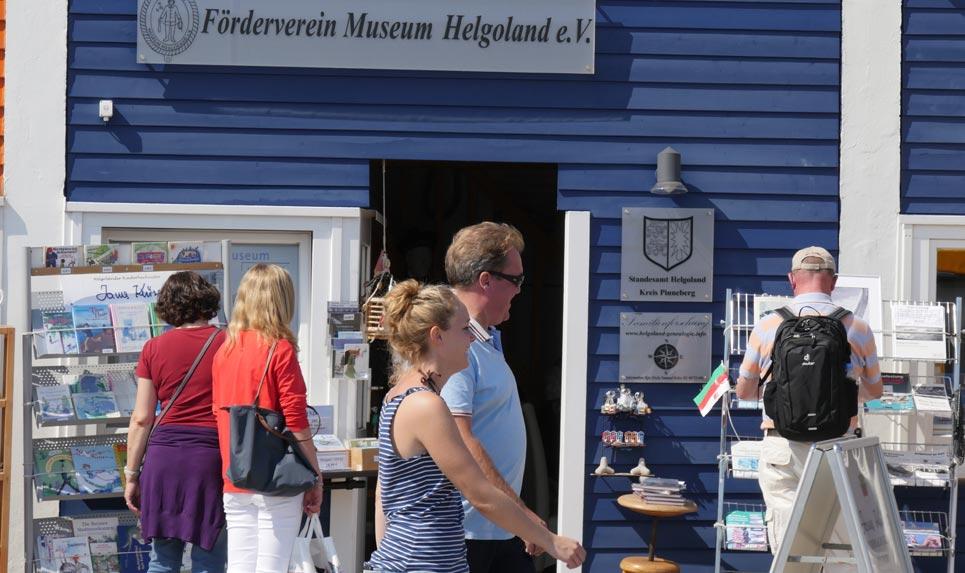 Hummerbude des Fördervereins Museum Helgoland | Bild: Andreas Bubrowski