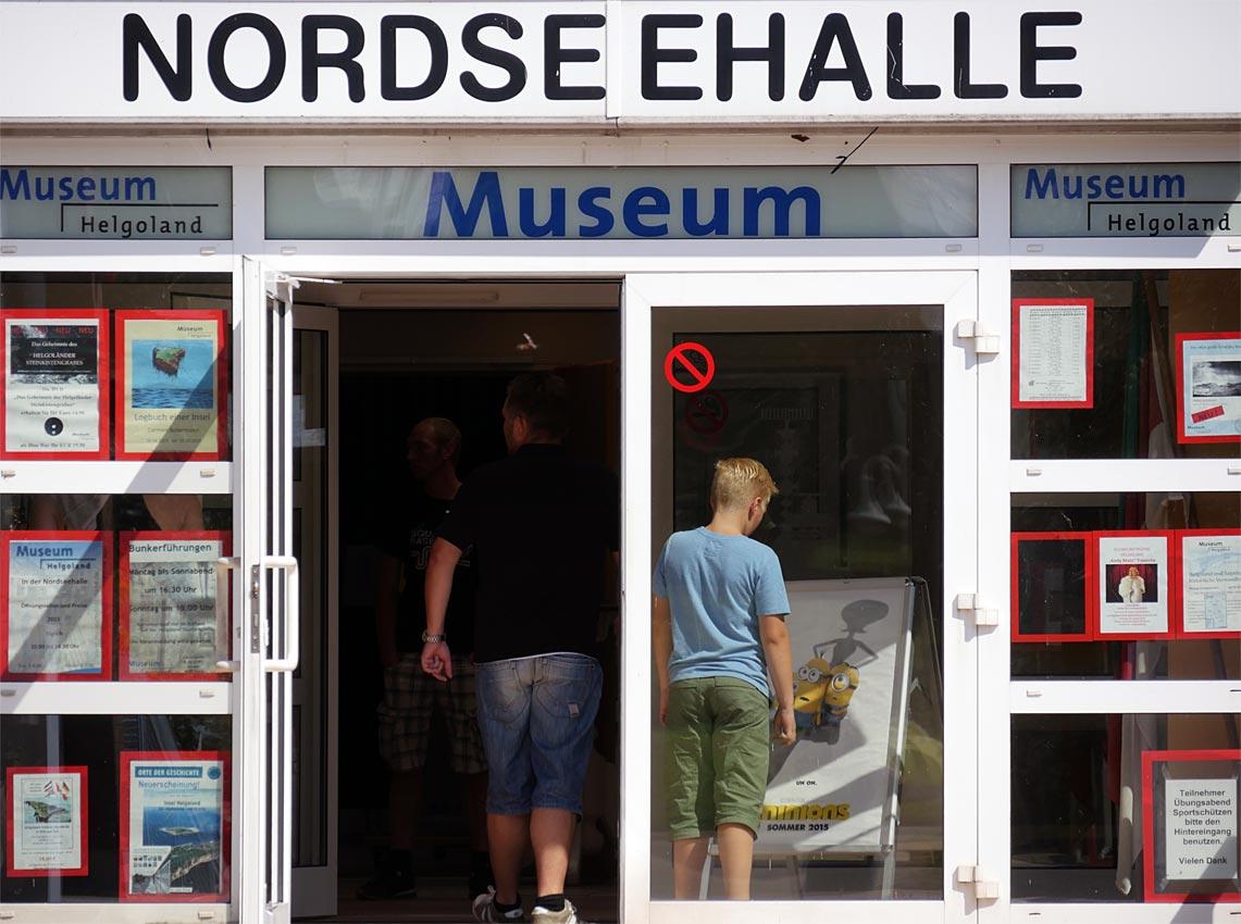 Museum Helgoland in der Nordeseehalle | Bild: Andreas Bubrowski